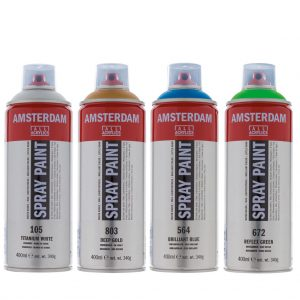 Sprays acrylique Amsterdam en 400ml