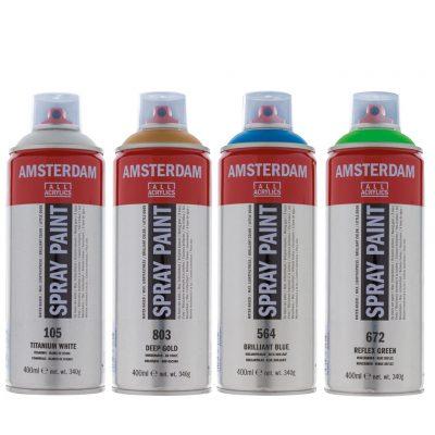 Sprays acrylique Amsterdam en 400ml