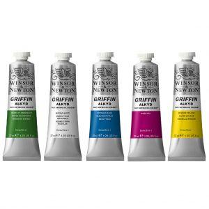 Set de plusieurs couleurs de l'huile à séchage rapide Winsor & Newton