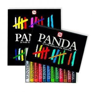 Boîtes de pastels Panda Talens