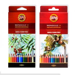Boîte en carton de crayons aquarelle Mondeluz Koh-I-Noor