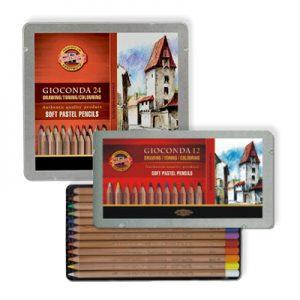 Boîtes de crayons pastels Gioconda Koh-I-Noor