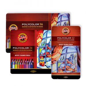 Boîtes de crayons de couleur Polycolor Koh-I-Noor