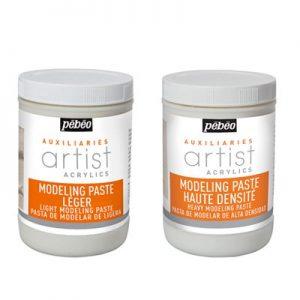 Modeling paste Artist Acrylics de Pébeo
